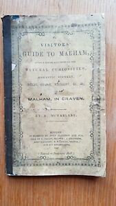 Visitor's Guide To MALHAM in Craven 1847 A. Mc.Farlane 1847 Victorian Yorkshire