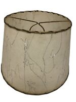 "Vintage Mid Century Modern Fiberglass Lamp Shade Cone 8"" - 12"" Clip On Bulb MCM"