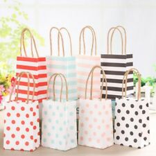 20Pc Mini Paper Gift Bag With Handle Small Wedding Jewelry Decor Birthday Party