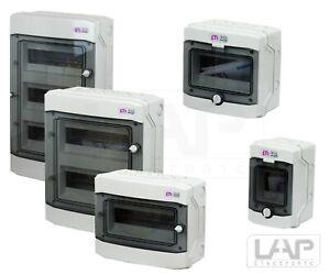 ETI Kleinverteiler IP65 Aufputz Unterverteilung Sicherungskasten Verteilerkasten