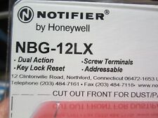 Notifier NBG-12LX Pull Station Lot of 2