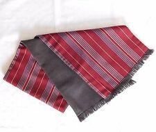 Vintage à rayures écharpe laine soutenu College University rayures pour hommes ou femmes