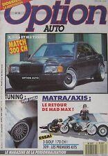 Option Auto magazine 04-05/1987 Issue 16