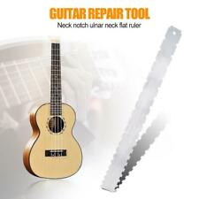 Guitar Neck Notched Straight Ruler Fret Fingerboard Straight Edge Measuring Tool