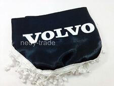 VOLVO Window Shield Pelmet Curtains Windscreen Waveform with Logo Emblem Black