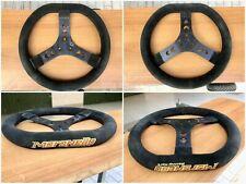 Volante Go Kart Maranello 320mm Crg Diesis Mar 100cc 125cc Con Logo Ricamato