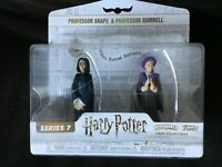 Funko HeroWorld Professors Snape and Quirrell Harry Potter S7 Vinyl Figures New