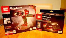 💖 Einhell ® TE-CD 18 Li-I BL Brushless Combi Perceuse + 3.0 Ah X-Change Starter...