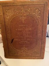 More details for beautiful antique 1856 bible printed by george e eyre and william spottiswoode