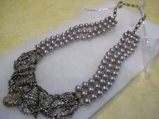"HEIDI DAUS ""Ravishing Raven""/""HSN Movie Event"" Necklace (Orig.$299.95)-LAST ONE!"