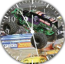 Big Truck Frameless Borderless Wall Clock Nice For Gifts or Decor E377