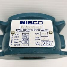 """NIBCO W920W-LF  2"""" CONNECTION TWIN DISC WAFER CHECK VALVE"""