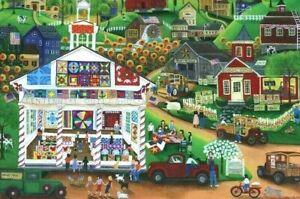Cra-Z-ArtJigsaw PuzzleCollector Centennial Quilt Show By Cheryl Bartley 1000 Pcs