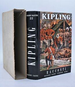 Rudyard Kipling RACCONTI Edizioni Casini 1963 Classici Letteratura inglese