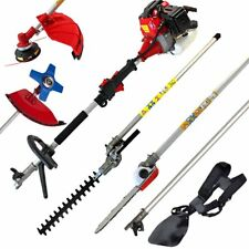 Multi 52CC 2-strokes 5 in 1 Multi brush cutter grass trimmer lawn mower pruner