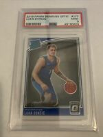 2018-19 Donruss Optic Luka Doncic Rated Rookie #177 PSA 9 Mint Dallas Mavericks