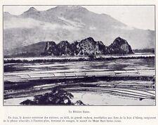 LA RIVIERE NOIRE BLACK RIVER MONT BAVI MOUNT VIET NAM VIETNAM IMAGE 1923 PRINT