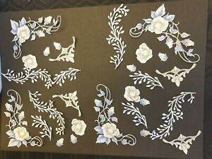 Carnation C WEDDING VOLUME  flowerpart of FAIRYTALE DAY New collection  die cuts