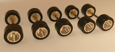 *HO ALUMINUM RIM SETS*5 AFX  REAR AXLE SETS COMPLETE W TIRES, NUTS NEW √BUY NOW√