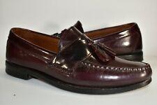 Allen Edmonds Stowe Brown Tassel Loafers Mens Dress Shoes Leather Moc Toe Sz 8 D
