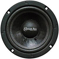 """NEW 5"""" AB Sealed Midrange Vocal Speaker.voice.Car stereo.home.car sound.8ohm.5in"""
