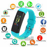 Sports Fitness Tracker Waterproof Smart Watch Heart Rate Blood Pressure Monitor