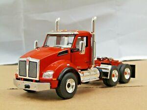 First Gear orange Kenworth T880 tractor new no box 1/50