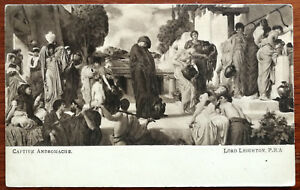 Lord Leighton, P. R. A. Captive Andromache Post Card