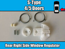 Jaguar S Type Rear Right Window Regulator Replacement Repair Kit Set