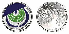 Latvia silver 925 coin Liktendarzs The Garden of Destiny PROOF 2018