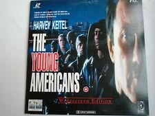 The Young Americans Laserdisc Widescreen Palharvey Keitel