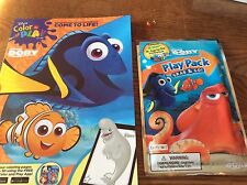 Disney Pixar Finding Dory Coloring Book + Play Pack crayons stickers (Style#2)