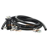 Speedflow Inline Turbo Micro Oil Filter Ford XR6T Garrett Precision 600-04-BLK