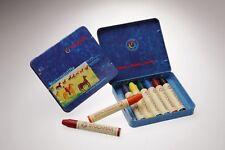 Stockmar wachsmalstifte en chapa estuche 8 plumillas colores despierta lápices de cera! nuevo!