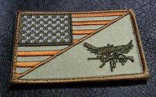 USA Flag Tactical SWAT Eagle 3 x 2 inch hook tactical swat PATCH