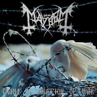 MAYHEM - GRAND DECLARATION OF WAR (RE-RELEASE INCL.BONUS C 2 CD NEU