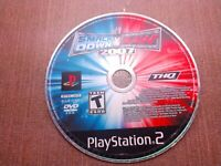 Sony PlayStation 2 PS2 Disc Only Tested WWE Smackdown vs Raw 2007 Ships Fast