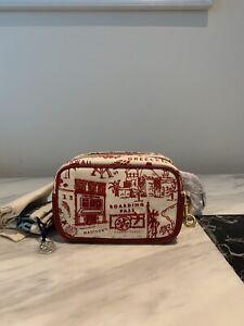 Tory Burch Cross Body Bag Perry Printed Canvas Bombé shoulder bag