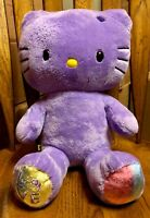 HELLO KITTY Build-A-Bear SPECIAL PURPLE SPRING EDITION Stuffed Plush Animal 18""
