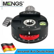 MENGS PAN-60H 360° Drehteller Panorama Stativkopf + Klemme Für Arca-Swiss Platte