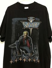 Vtg 00'S 90'S Spike Buffy Vampire Slayer Horror Tv Show Movie T-Shirt Rare L
