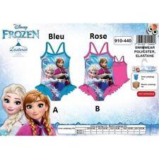 8 ans ROSE * Maillot de bain La Reine des Neiges Frozen Disney * 1 pièce * NEUF