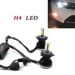 2PCS LED G5 80W H4 9003 HB2 6000K Blue Head Light Bulbs High/Low Beam Lamp P43t