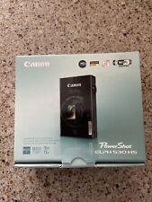 Canon PowerShot ELPH 530 HS 10.1 MP Digital Camera - Black - Hardly Used