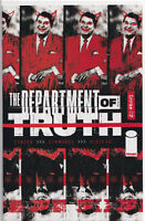 DEPARTMENT OF TRUTH #2 (SIMMONDS VARIANT)(1ST PRINT) COMIC BOOK ~ Image Comics