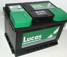 Ford LCV Courier Diesel 91-97 LUCAS Car Battery -075