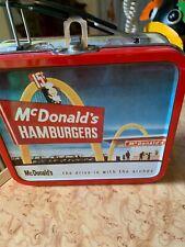 Vintage 1997 McDonald's Tin Lunch Box, Collectible, Retro-Style, Mini Metal