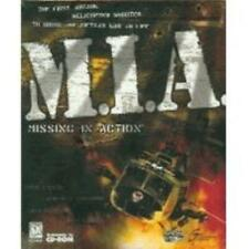 M.I.A. Missing in Action PC CD pilot helicopter combat Vietnam war shooter game!