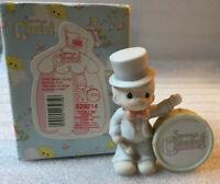 "Precious Moments Figurine #529214 ~ PM Mark TRP 🎺~ Boy With Drum ""Collin"""