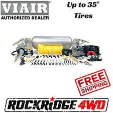 Viair 10008 Super Duty Onboard Air System Kit w/ 2 325C Air Compressors Horns